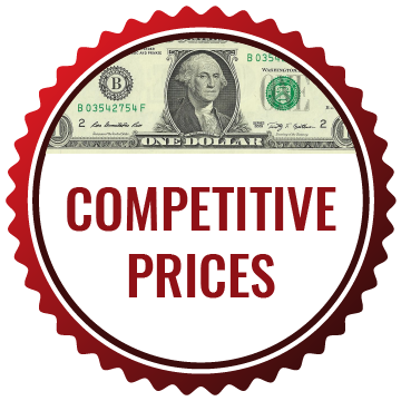 low, competitive prices
